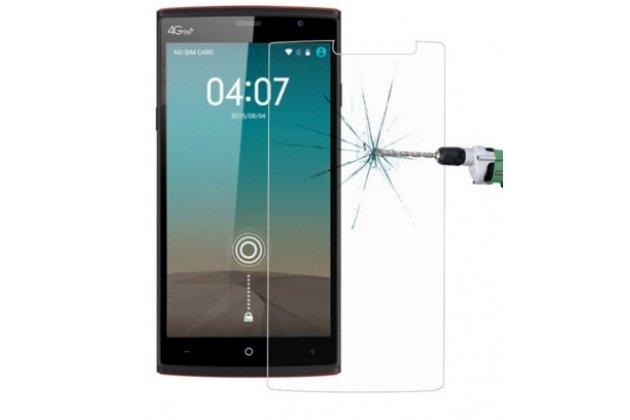 Фирменное защитное закалённое противоударное стекло премиум-класса из качественного японского материала с олеофобным покрытием для  Leagoo Elite 5