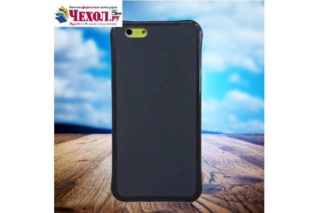 Фирменная ультра-тонкая полимерная из мягкого качественного силикона задняя панель-чехол-накладка для Leagoo Elite Y черная
