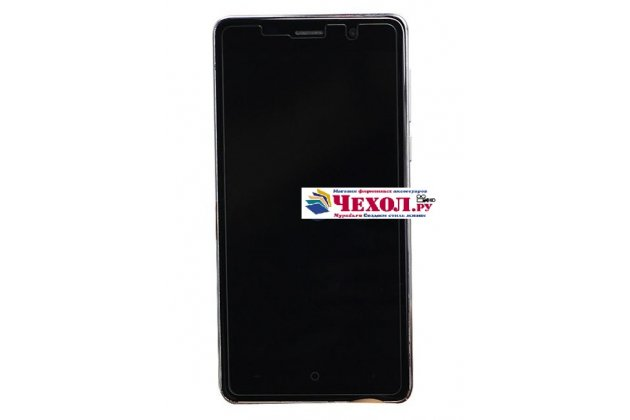 Фирменное защитное закалённое противоударное стекло премиум-класса из качественного японского материала с олеофобным покрытием для телефона Leagoo M5 5.0