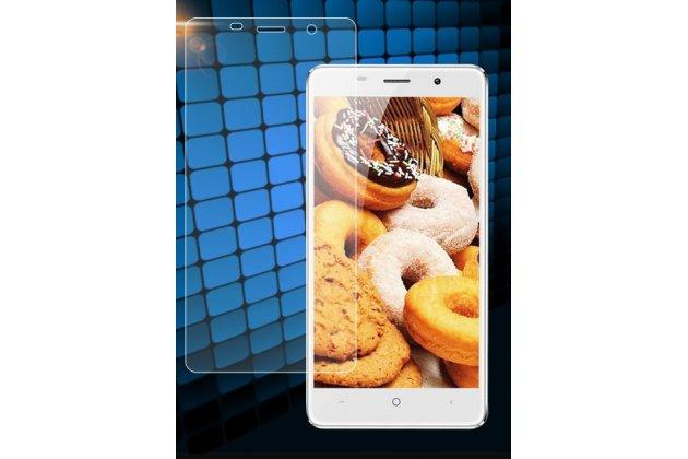 Фирменная оригинальная защитная пленка для телефона Leagoo M5 5.0 глянцевая