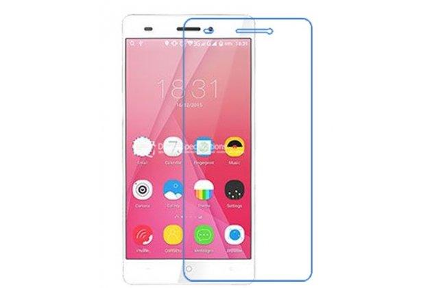 Фирменная оригинальная защитная пленка для телефона Leagoo T1 Plus 5.5 глянцевая
