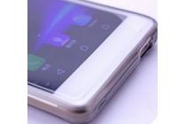 Фирменная ультра-тонкая полимерная из мягкого качественного силикона задняя панель-чехол-накладка для Leagoo T1 прозрачная