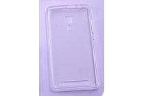 Фирменная ультра-тонкая полимерная из мягкого качественного силикона задняя панель-чехол-накладка для Leagoo Z1 белая