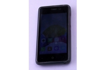 Фирменная ультра-тонкая полимерная из мягкого качественного силикона задняя панель-чехол-накладка для Leagoo Z1 черная