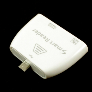 USB-переходник + разъем для карт памяти для Lenovo IdeaTab A2109