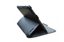 Фирменный чехол для Lenovo IdeaTab S2109 черный кожаный