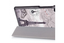 "Фирменный необычный чехол для   Lenovo TAB 3 Essential TB3-710F / 710i 7.0 ""тематика Париж"""