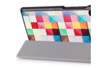"Фирменный необычный чехол для Lenovo TAB 3 Essential TB3-710F / 710i 7.0  ""тематика яркая Мозаика"""