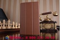 Фирменный умный чехол самый тонкий в мире для Lenovo TB-8703N / X (ZA230018RU) iL Sottile коричневый пластиковый Италия