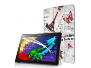 Фирменный эксклюзивный необычный чехол-футляр для Lenovo Tab 2 A10-30 / A10-30L / ZA0D0048RU / ZA0D0053RU /TAB..