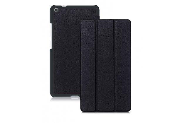Фирменный умный чехол самый тонкий в мире для Lenovo Tab 3 7 Plus TB-7703X/N (ZA1K0070RU) iL Sottile черный пластиковый Италия