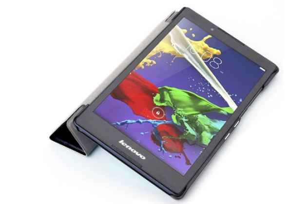 "Фирменный необычный чехол для Lenovo Tab 3 TB3-850F/M 8.0"" (ZA180028RU / ZA180059RU) ""тематика книга в Винтажном стиле"""
