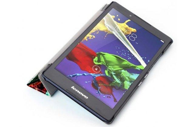 """Фирменный необычный чехол для Lenovo Tab 3 TB3-850F/M 8.0"""" (ZA180028RU / ZA180059RU)"""" """"тематика Весенние краски"""""""