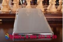 """Фирменная ультра-тонкая полимерная из мягкого качественного силикона задняя панель-чехол-накладка для Lenovo TAB 3 TB3-730X/M LTE 7.0"""" (ZA130004RU / (ZA130040RU) белая"""