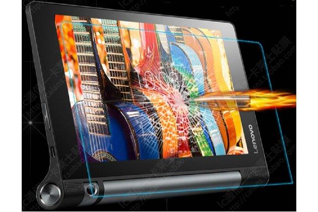 Фирменное защитное закалённое противоударное стекло премиум-класса из качественного японского материала с олеофобным покрытием для планшета Lenovo Yoga Tablet 8 3 16Gb 4G LTE (850M / YT3-850)