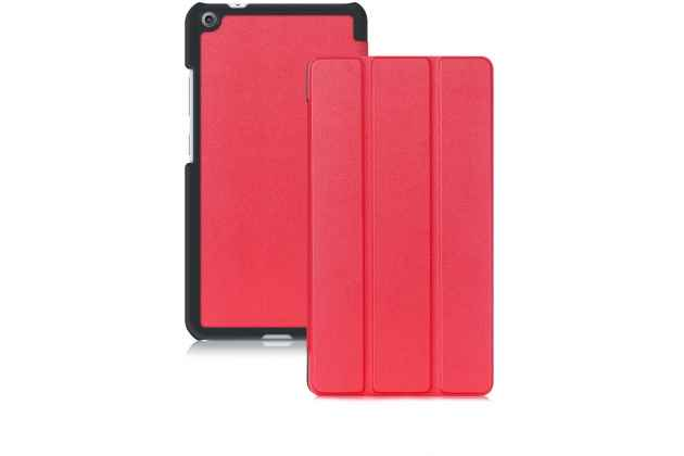 Фирменный умный чехол самый тонкий в мире для Lenovo Tab 3 7 Plus TB-7703X/N (ZA1K0070RU) iL Sottile красный пластиковый Италия