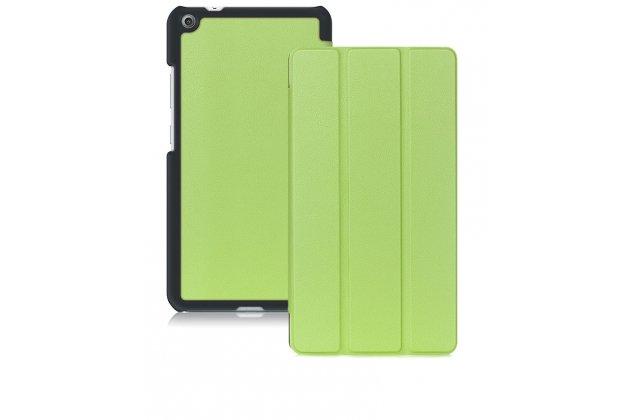Фирменный умный чехол самый тонкий в мире для Lenovo Tab 3 7 Plus TB-7703X/N (ZA1K0070RU) iL Sottile зеленый пластиковый Италия