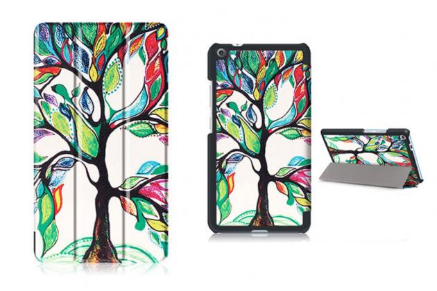 Фирменный необычный чехол для Lenovo Tab 3 7 Plus TB-7703X/N (ZA1K0070RU) тематика Сказочное Дерево