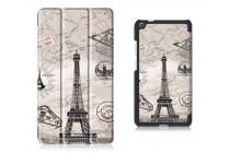 Фирменный необычный чехол для Lenovo Tab 3 7 Plus TB-7703X/N (ZA1K0070RU) тематика Париж