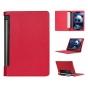 Фирменный чехол подставка для Lenovo Yoga Tablet 10 3 16Gb 4G (YT3-X50M/X50L/ZA0K0006RU) 10.1 красный кожаный..