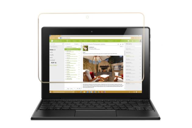 Фирменная оригинальная защитная пленка для планшета Lenovo ideapad MIIX 310 глянцевая