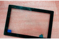 Фирменное сенсорное стекло-тачскрин на  Lenovo MIIX 310-10ICR (80SG00A9RK) черный и инструменты для вскрытия + гарантия