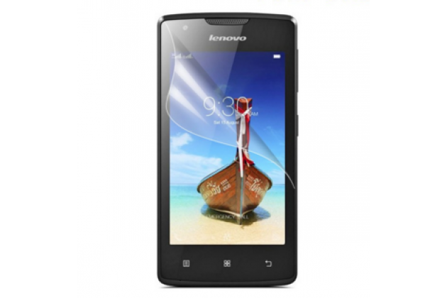 """Фирменная оригинальная защитная пленка для телефона Lenovo A1000/ A2800 /A2800D 4.0"""" глянцевая"""