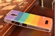 """Фирменная необычная из легчайшего и тончайшего пластика задняя панель-чехол-накладка для Lenovo A2010  """"тематика Краски"""""""