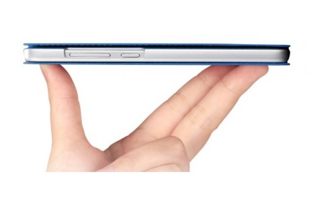 """Фирменный оригинальный водооталкивающий чехол-книжка для Lenovo A3690 / A3860 / A3580 / A3890 5.0"""" золотой"""