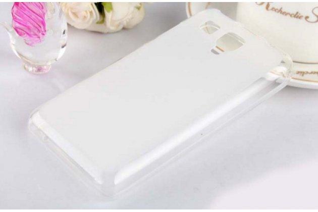 Фирменная ультра-тонкая полимерная из мягкого качественного силикона задняя панель-чехол-накладка для Lenovo A396 / A238T белая