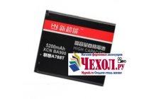 Усиленная батарея-аккумулятор большой ёмкости 5200mAh для телефона Lenovo A526 + гарантия