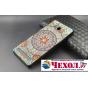 Фирменная роскошная задняя панель-чехол-накладка из металла с объемным  3D изображением для Lenovo A5600 / A58..