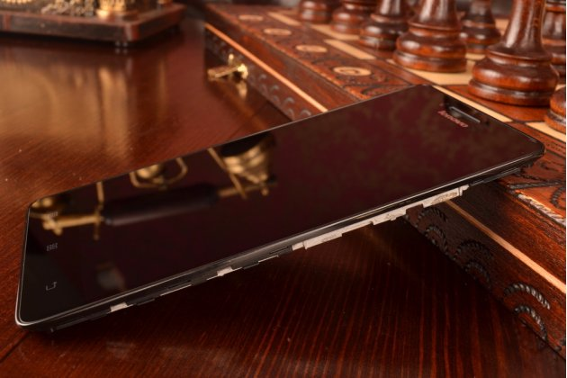 Фирменный LCD-ЖК-сенсорный дисплей-экран-стекло с тачскрином на телефон Lenovo K3 Music Lemon черный + гарантия