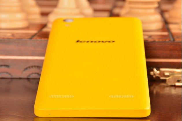 Родная оригинальная задняя крышка-панель которая шла в комплекте для Lenovo K3 Music Lemon / A6000 желтая