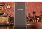 Родная оригинальная задняя крышка-панель которая шла в комплекте для Lenovo K3 Music Lemon / A6000 черная..