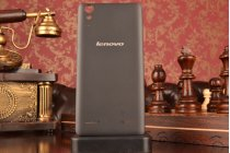 Родная оригинальная задняя крышка-панель которая шла в комплекте для Lenovo K3 Music Lemon / A6000 черная