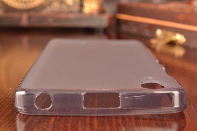 Фирменная ультра-тонкая полимерная из мягкого качественного силикона задняя панель-чехол-накладка для Lenovo A6000/ A6010 Plus черная