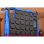 Противоударный усиленный ударопрочный фирменный чехол-бампер-пенал для Lenovo A7000 синий..