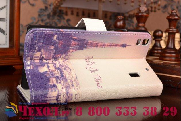 """Фирменный уникальный необычный чехол-подставка для Lenovo K3 Note / A7000 5.5""""  """"тематика Париж"""""""