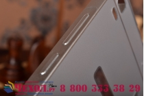 """Фирменная металлическая задняя панель-крышка-накладка из тончайшего облегченного авиационного алюминия для  Lenovo K3 Note / A7000 5.5"""" серебристая"""