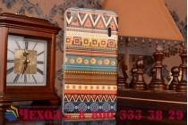 """Фирменный уникальный необычный чехол-книжка для  Lenovo K3 Note / A7000 5.5""""  """"тематика Эклектические Узоры"""""""