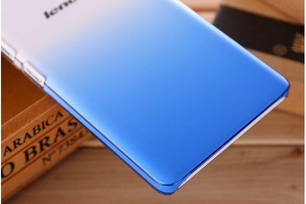 Фирменная из тонкого и лёгкого пластика задняя панель-чехол-накладка для Lenovo K3 Note/A7000 прозрачная с эффектом дождя