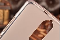 """Фирменная ультра-тонкая силиконовая задняя панель-чехол-накладка для Lenovo K5 Note  (K52t38 / K52e78) 5.5"""" белая"""