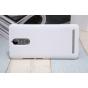 Фирменная задняя панель-крышка-накладка из тончайшего и прочного пластика для Lenovo K5 Note  (K52t38 / K52e78..