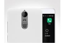 """Фирменная задняя панель-крышка-накладка из тончайшего и прочного пластика для Lenovo K5 Note  (K52t38 / K52e78) 5.5"""" белая"""