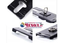 """Фирменная металлическая задняя панель-крышка-накладка из тончайшего облегченного авиационного алюминия для Lenovo K5 Note (K52t38 / K52e78) 5.5"""" черная"""