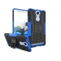 Противоударный усиленный ударопрочный фирменный чехол-бампер-пенал для Lenovo K5 Note  (K52t38 / K52e78) 5.5