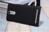 """Фирменная задняя панель-крышка-накладка из тончайшего и прочного пластика для Lenovo K5 Note  (K52t38 / K52e78) 5.5"""" черная"""