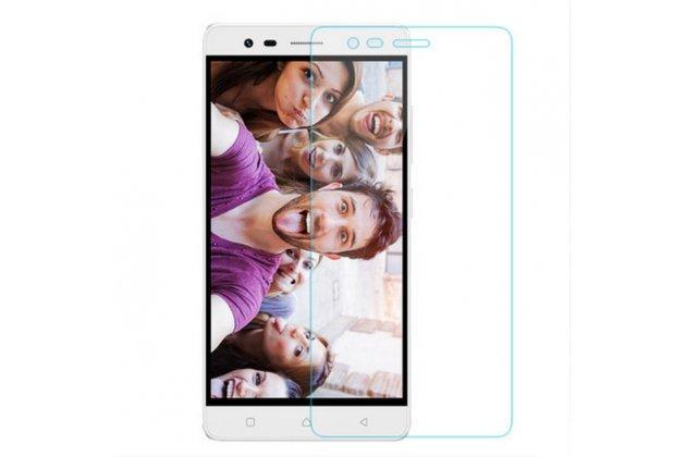 """Фирменное защитное закалённое противоударное стекло премиум-класса из качественного японского материала с олеофобным покрытием для телефона Lenovo K5 Note  (K52t38 / K52e78) 5.5"""""""