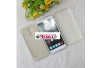 """Фирменная ультра-тонкая силиконовая задняя панель-чехол-накладка для Lenovo K6/ K6 Power 5.0"""" белая"""